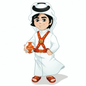 Fahed the mascot