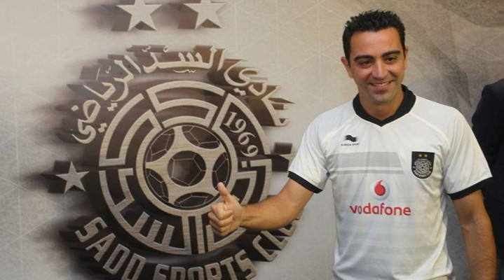 Xavi in Qatar