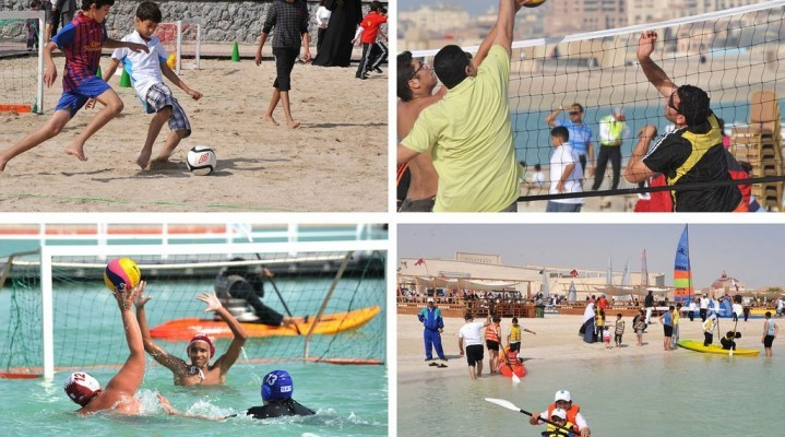 Hundreds Celebrate Qatar National Sport Day