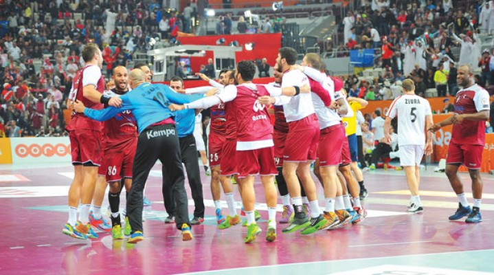 Qatar into world quarter-finals, but the Brazilian team was knocked out