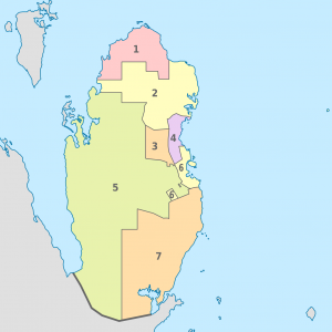 Qatar,_administrative_divisions_-_Nmbrs_-_colored